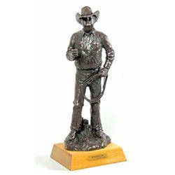 """Charlie"" bronze #58/100 by Joe Beeler"