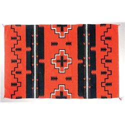 Navajo Germantown textile weaving,