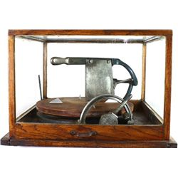 Antique store model cheese cutter
