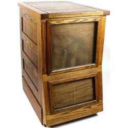 Single section antique Sherer seed counter