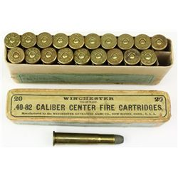 Full correct box 40-82 cal. Winchester 1886