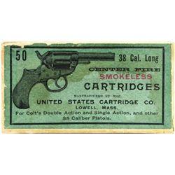 Full correct box Winchester .32 cal. ammo