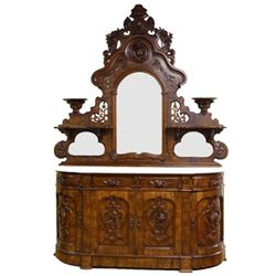 Beautiful Victorian sideboard attributed to