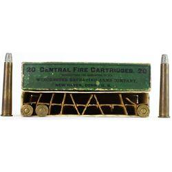 Winchester 32-40 black powder ammo box