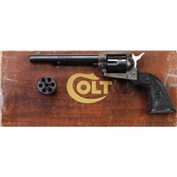 Colt SA Peacemaker DC dual cylinder .22 cal.