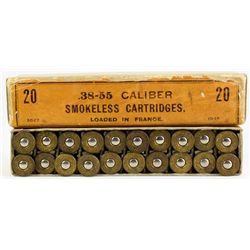 Winchester .38-55 loaded in France full correct.