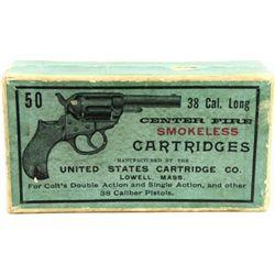 Scarce Winchester ammo 2 piece picture box