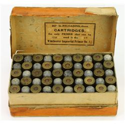 US Cartridge Co. 2 piece picture box 38 cal. long