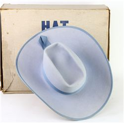 Classic cowgirl hat by legendary Leddy Brothers
