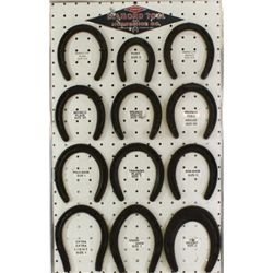Diamond tool horseshoe display board,