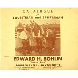 Vintage Ed Bohlin Catalog 56 pages