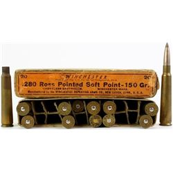 Winchester 280 Ross Pointed Soft Point