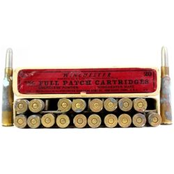 Full correct box Winchester 7mm Full Patch