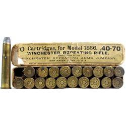 Winchester full correct 40-70 WCF ammo.