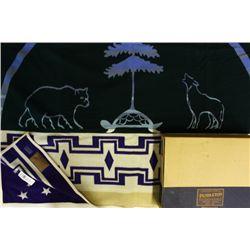 """New in box Pendelton blanket """"Land of the Oneida"""""""