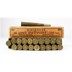 Winchester 30 Army full ammo.