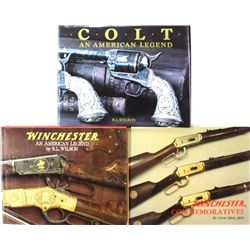 Collection of 3 Firearms books includes