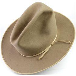 Classic little Stetson cowboy hat, inner hat