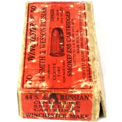Winchester 44 S&W Russian 40 rounds.