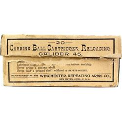 Winchester 45 carbine 11 loaded 9 empty