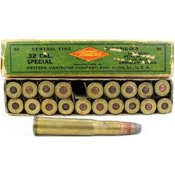 Western 32 Special full correct ammo.