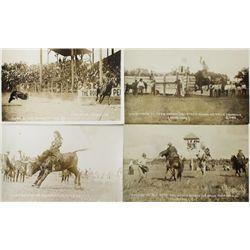 Collection of 26 original photo postcards