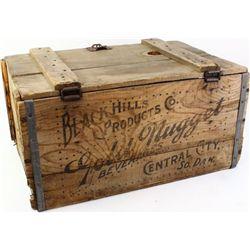 Original Gold Nugget Beer crate