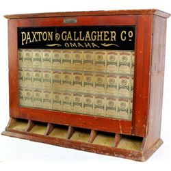 Antique counter top display for Monogram Spices