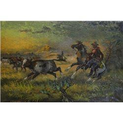 Untitled JA Kirkpatrick oil on canvas