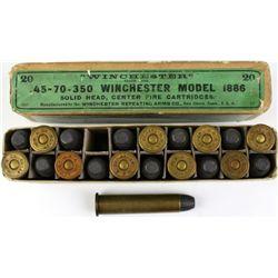 Winchester full correct 45-70 350 ammo