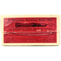 Winchester full correct 30 WCF ammo for