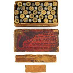 Winchester 38 Long Colt Lightning ammo