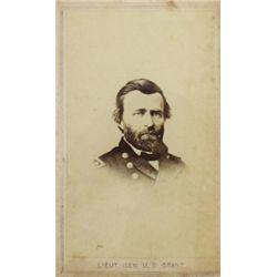 Original  Lieut. Gen. U. S. Grant CDV  stamped