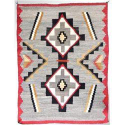 Excellent Red Mesa Outline Navajo textile weaving