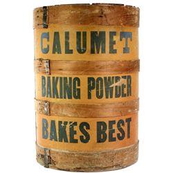 Original Calumet Baking Powder advertising