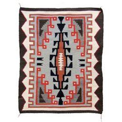 Ganado style Navajo textile weaving,