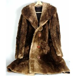 Magnificent Beaver Man's full length coat
