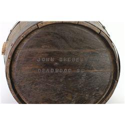 John Treber Deadwood SD stamped whiskey