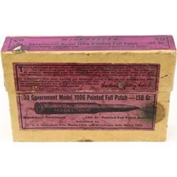 Sealed Winchester 30 Government Model 1906