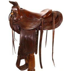Large vintage George Lawrence saddle