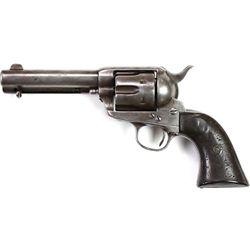 Colt SA .44-40 cal. SN 149173 revolver shortened