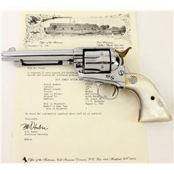 """Colt SA .45 cal. SN 277912 revolver 5 1/2"""" barrel,"""