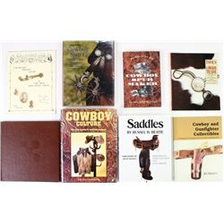 Collection of 8 books includes Cowboy Culture