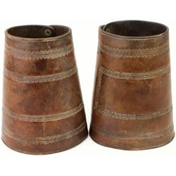 Good unmarked pair early cowboy cuffs