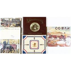Collection of 4 books includes CO BAR