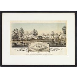 Collection of 2 civil war lithographs for the 21st
