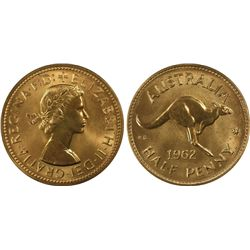 1962(p) ½ Penny PCGS PR64RD