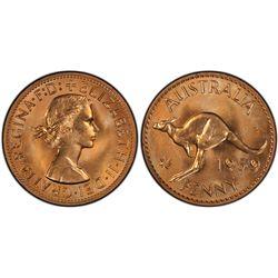 1959(p) Penny PCGS PR66RD
