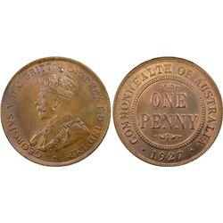 1927(m) Penny PCGS MS64BN