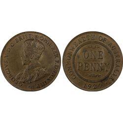 1929(m) Penny PCGS MS64BN